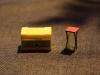 Behälter für gelbe Säcke