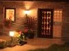 Haustür mit Beleuchtung