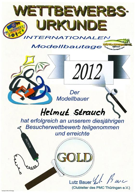 Urkunde Pfiffelbach 2012